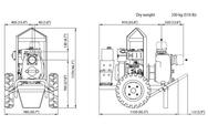 VARISCO JD 4-159 G10 MLD25 TROLLEY дизельная грязевая мотопомпа Varisco Дизельные Мотопомпы