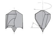 L=77 S=Ø10x30 Глухие свёрла CMT Свёрла и зенкеры Инструмент