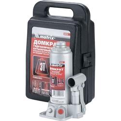 3т MATRIX MASTER 50752 Домкрат бутылочный с кейсом Matrix Бутылочные Домкраты