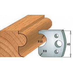 Комплекты ножей и ограничителей серии 690/691 #004 CMT Ножи и ограничители для фрез 40 мм Ножи