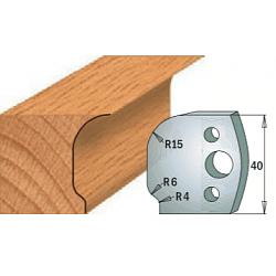 Комплекты ножей и ограничителей серии 690/691 #047 CMT Ножи и ограничители для фрез 40 мм Ножи