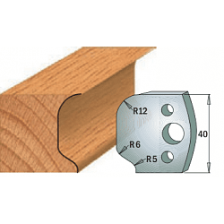Комплекты ножей и ограничителей серии 690/691 #048 CMT Ножи и ограничители для фрез 40 мм Ножи