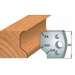 Комплекты ножей и ограничителей серии 690/691 #049 CMT Ножи и ограничители для фрез 40 мм Ножи