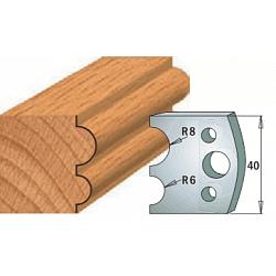 Комплекты ножей и ограничителей серии 690/691 #051 CMT Ножи и ограничители для фрез 40 мм Ножи