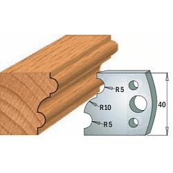 Комплекты ножей и ограничителей серии 690/691 #052 CMT Ножи и ограничители для фрез 40 мм Ножи