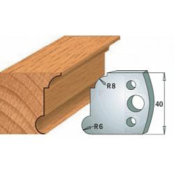 Комплекты ножей и ограничителей серии 690/691 #053 CMT Ножи и ограничители для фрез 40 мм Ножи