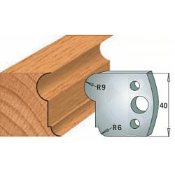 Комплекты ножей и ограничителей серии 690/691 #055 CMT Ножи и ограничители для фрез 40 мм Ножи