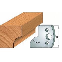 Комплекты ножей и ограничителей серии 690/691 #057 CMT Ножи и ограничители для фрез 40 мм Ножи