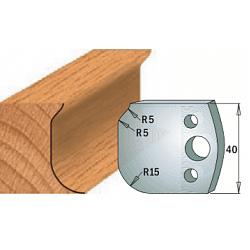 Комплекты ножей и ограничителей серии 690/691 #060 CMT Ножи и ограничители для фрез 40 мм Ножи