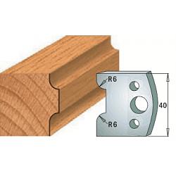 Комплекты ножей и ограничителей серии 690/691 #063 CMT Ножи и ограничители для фрез 40 мм Ножи