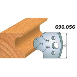 Комплекты ножей и ограничителей серии 690/691 #056 CMT Ножи и ограничители для фрез 40 мм Ножи