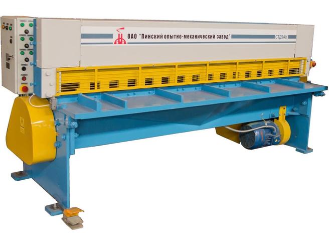 СТД-9АН (6х2000) Ножницы гильотинные Российские фабрики Электромеханические Гильотинные ножницы